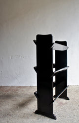 EBONISED BOOK SHELVES