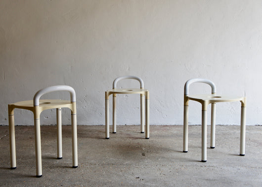 1970'S POLO STOOLS BY ANNA CASTELLI FERRIERI FOR KARTELL