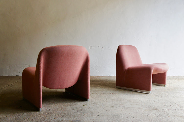 A PAIR OF 1970'S CASTELLI ALKY CHAIRS BY GIANCARLO PIRETTI
