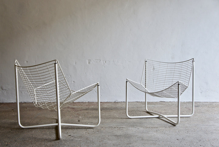 A PAIR OF 1980'S JARPEN CHAIRS BY NIELS GAMMELGAARD