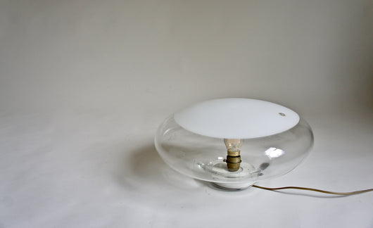 1960'S MURANO GLASS LAMP BY ROBERTO PAMIO FOR LEUCOS