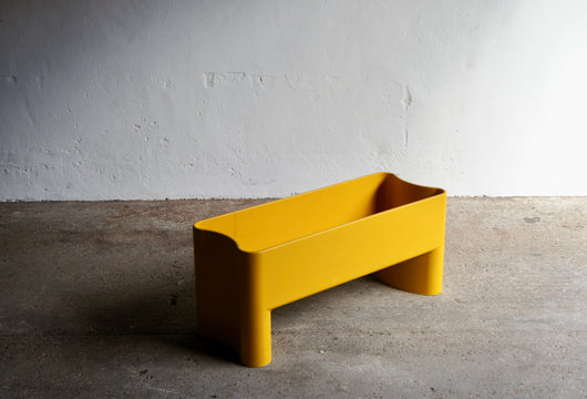 LARGE YELLOW PLANTER