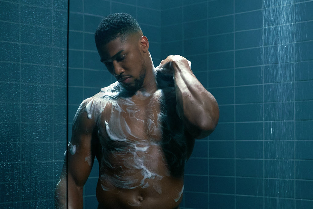Anthony Joshua Gets Steamy Ahead of his Big Fight!