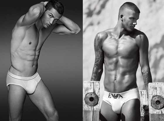 The very best pictures of Football / Soccer players in underwear