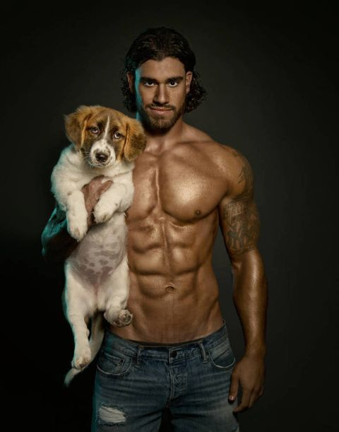 In Times Of Trouble...We Bring You Hot Guys With Dogs, WOOF!