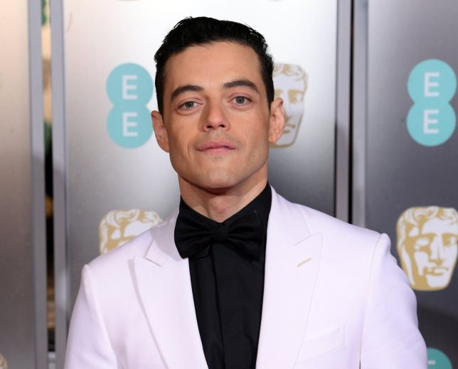 Rami Malek shows off more than just his BAFTA