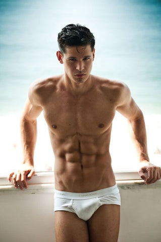 mens white underwear