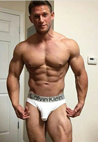 white briefs muscle