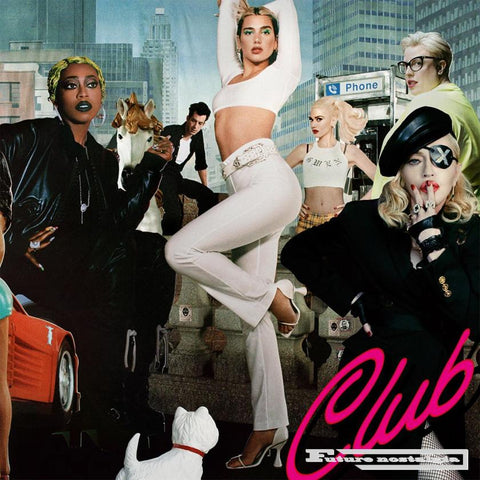 Club Future Nostalgia by Dua Lipa remix album cover