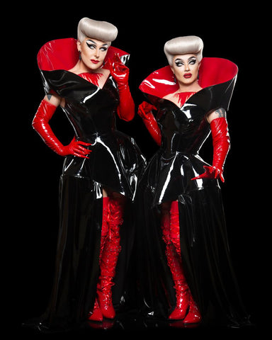 boulet brothers signature look pvc wigs dragula