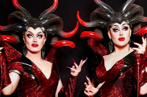 Stars and creators of Dragula the Boulet Brothers