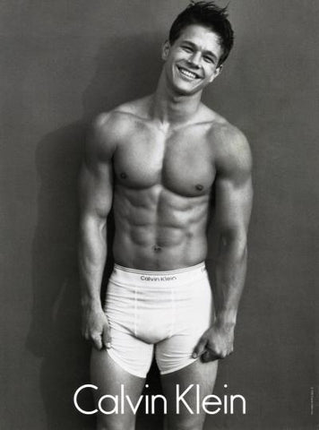 Mark Wahlberg Calvin Klein Picture Smiling