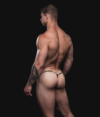 Matt-luscious-lace-g-string-ass-bum