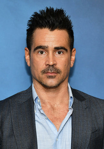 Colin farrell in blue shirt and jacket