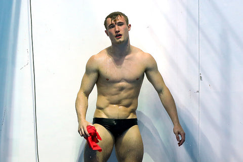 jack laugher in the shower
