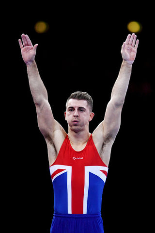 Max Whitlock with union jack top