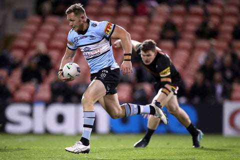 Jack Williams Running With Rugby Ball