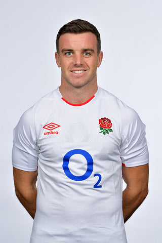 George ford white top smile