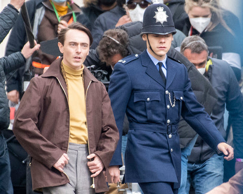 Harry Styles police officer uniform my Policeman filming