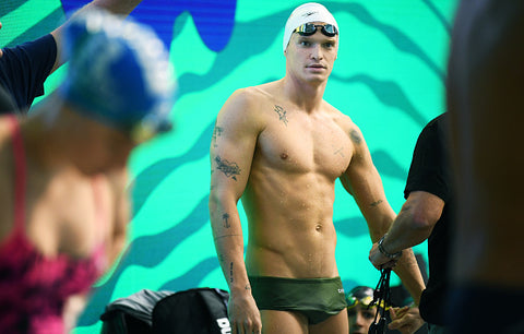 ADELAIDE, AUSTRALIA - JUNE 11: Cody Simpson of Superfish during a training session ahead of the 2021 Australian National Olympic Swimming Trials at SA Aquatic & Leisure Centre on June 11, 2021 in Adelaide, Australia. (Photo by Mark Brake/Getty Images)