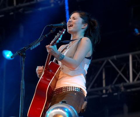 Jamie Dornan Sons of Jim - KT Tunstall (pictured)