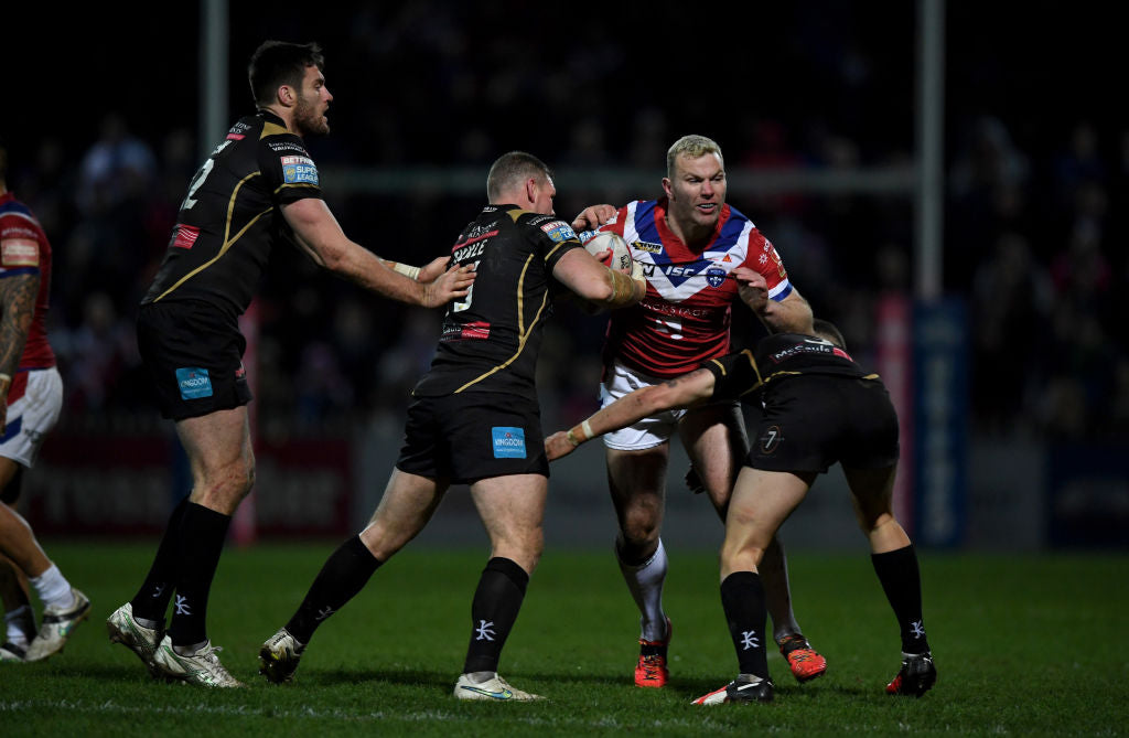 Keegan Hirst - Rugby League Match