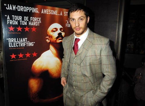 tom hardy at bronson premiere