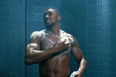 shower anthony joshua