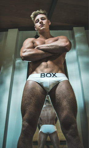 Max Wyatt White Briefs