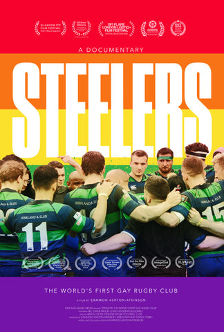 Poster for the Steelers gay rugby documentary