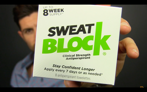 Sweatblock sweat black driclor review