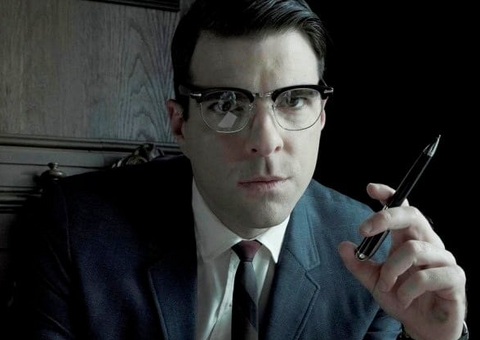 Zachery Quinto in season 2 of American Horror Story