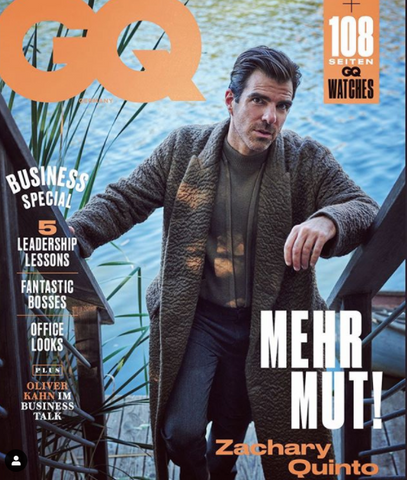 Zachery Quinto German GQ Cover
