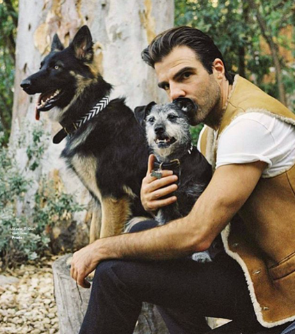 Zachery Quinto GQ Shoot