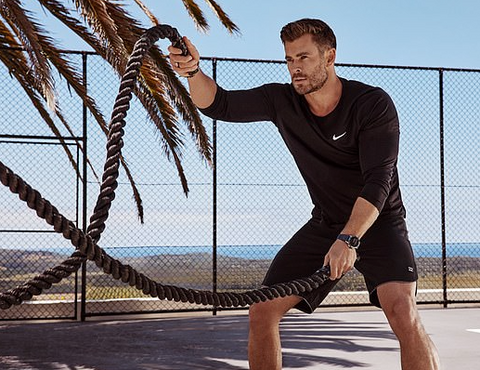 Chris Hemsworth Tag Heuer Campaign New Fitness Watch