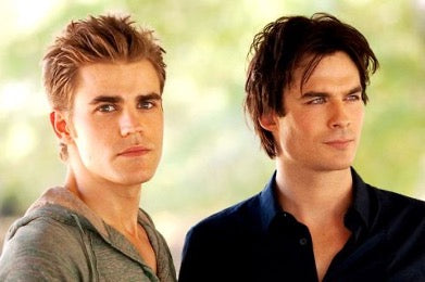 Stefan and Damon The Vampire Diaries