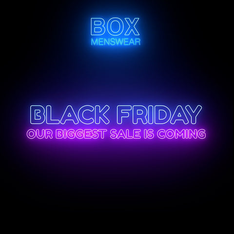 Box Menswear Black Friday Sale