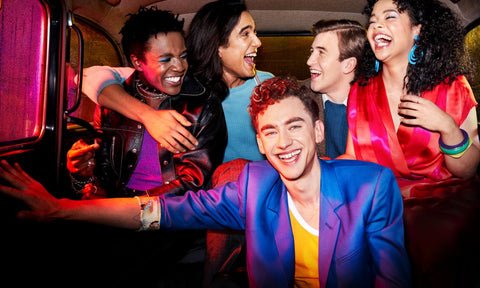 Olly Alexander and cast of its a sin