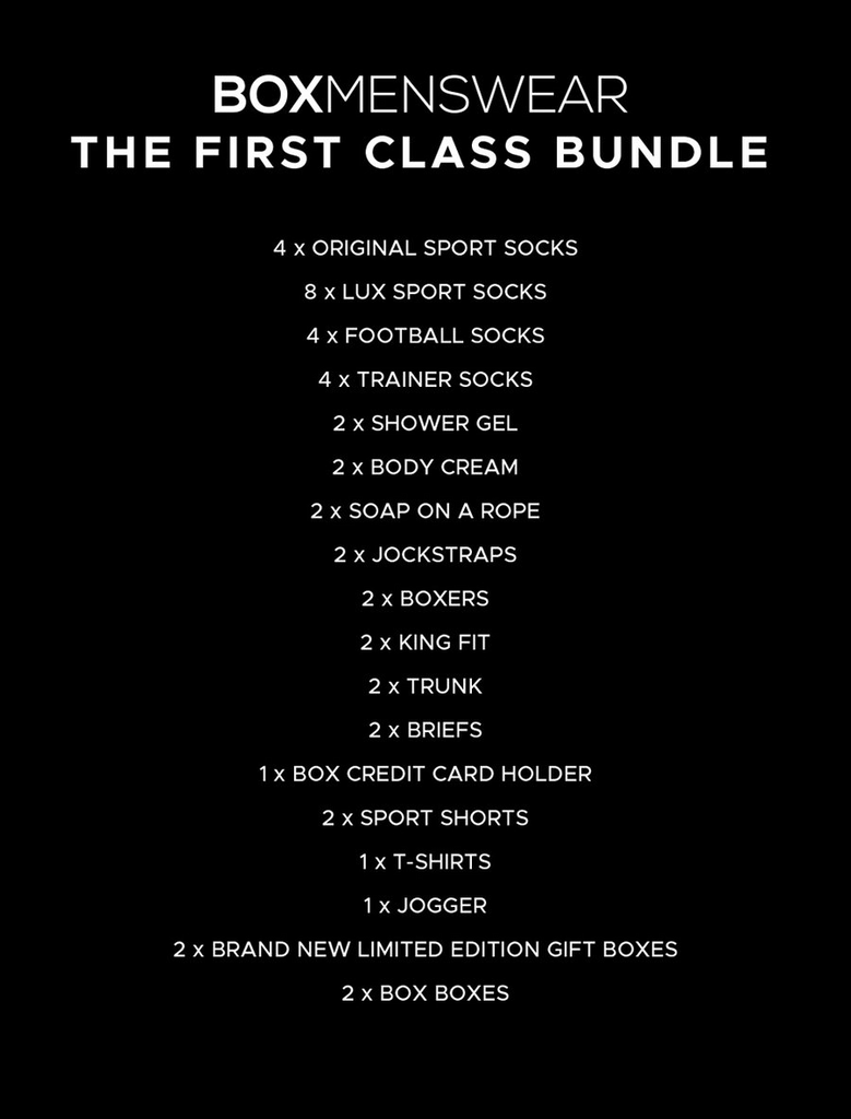First Class Bundle - Gift Box