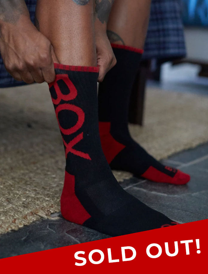 Lux Sports Socks - Black