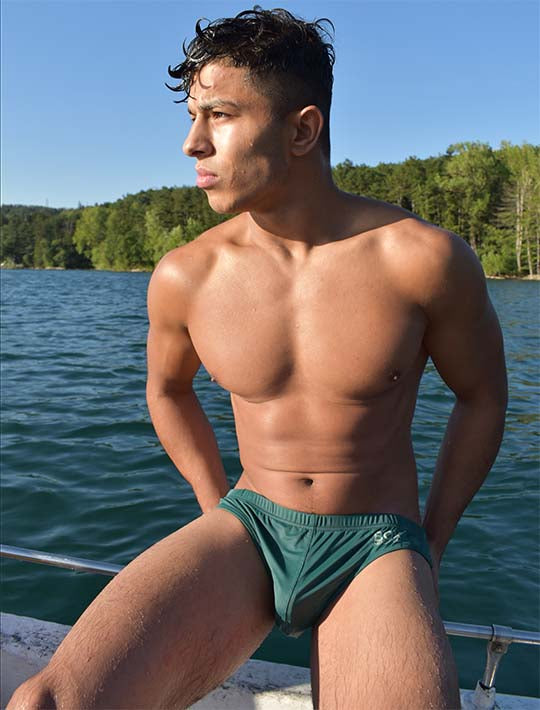 Swimming Trunks - Chicago Green