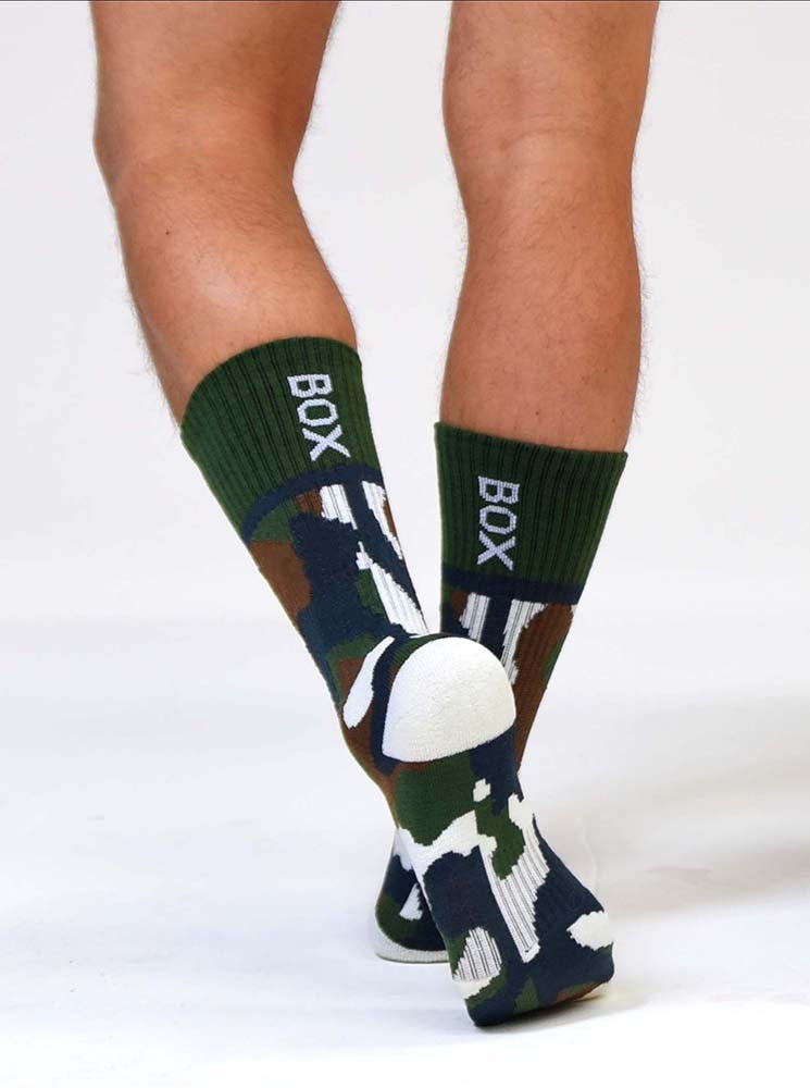 Box Sports Socks - Military Camo