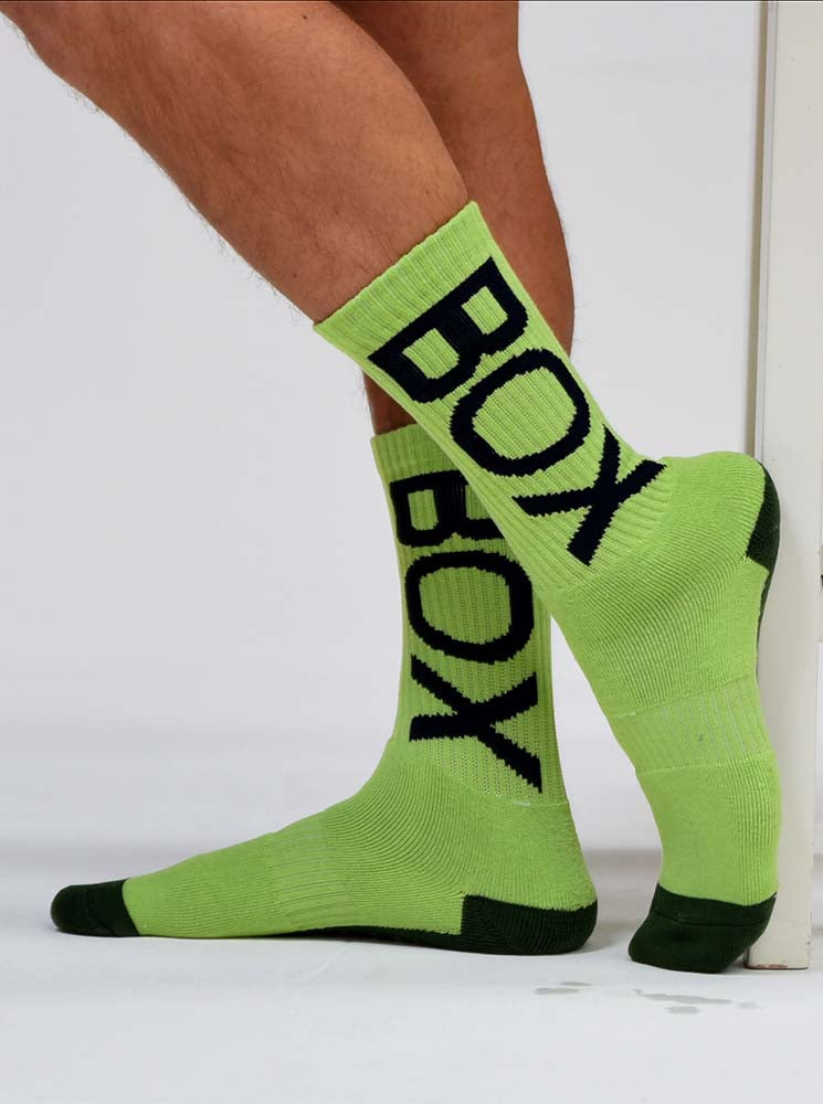 Box Sports Socks - Fluorescent Force One