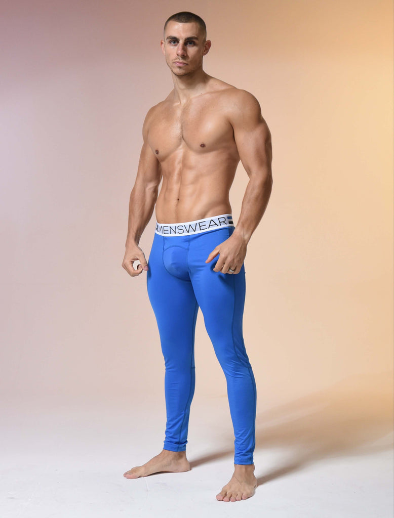 Compression Leggings - Cobalt