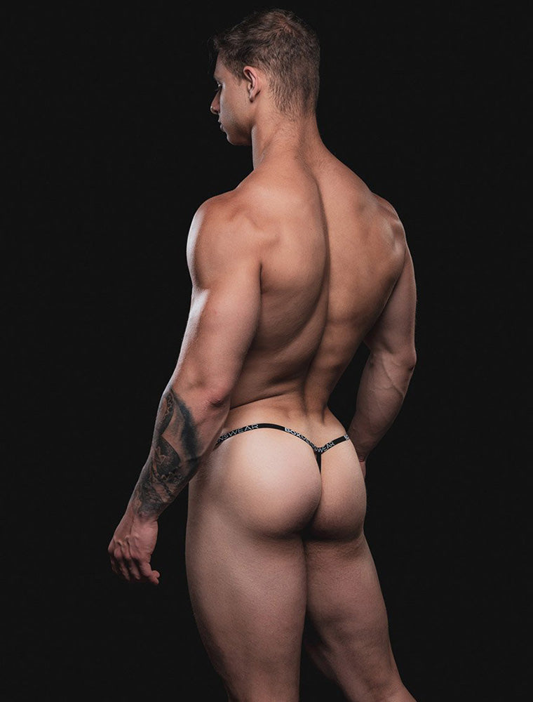 Male G-String - Black