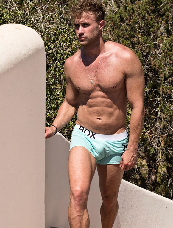 Ross Norton Teal Boxers Bulge
