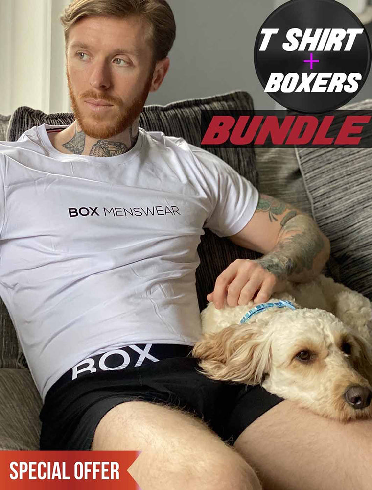 Work from Home: T-Shirt and Boxer Bundle