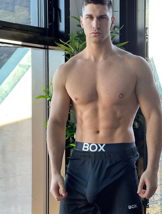 Mens Sports Shorts 2.0 - Black