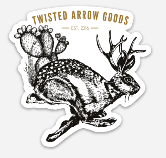 Jackelope Sticker
