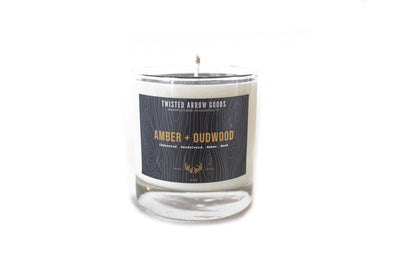AMBER & OUDWOOD CANDLE